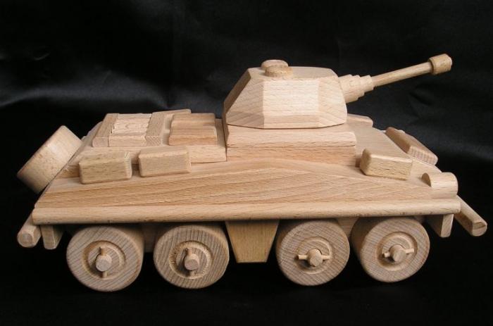 Spielzeug militärische Panzer