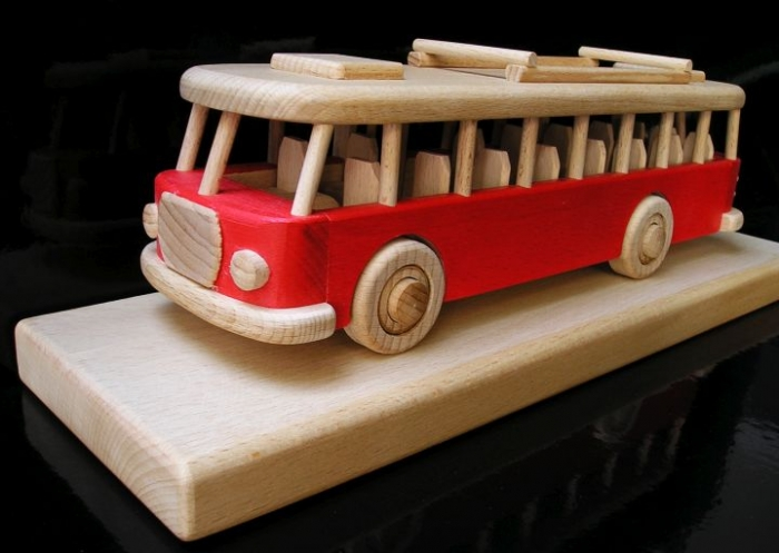 Root Bus Geschenk für Bus