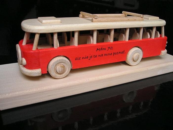 Geschenk für Busfahrer mit Text, Logo, Geburtstagsgeschenk