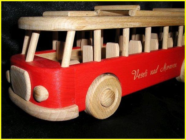 Reisen Rot Bus Spielzeug groß