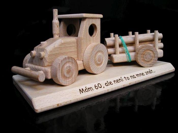 Geschenk für Traktorfahrer mit Text