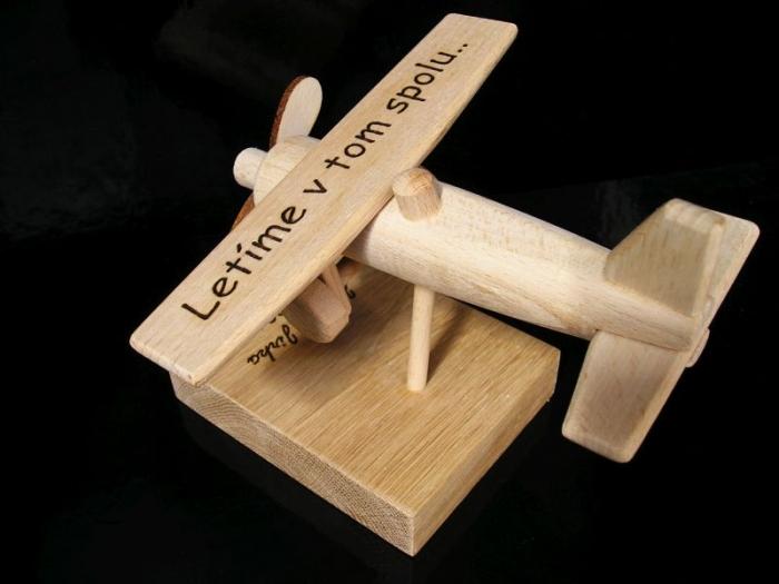 Geschenk für Flugzeugpilot mit Text
