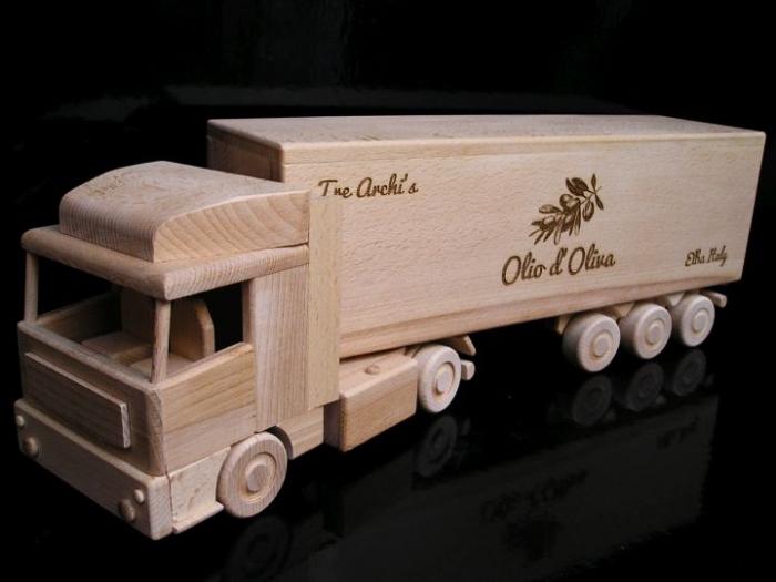 Geschenk für LKW-Fahrer, LKW mit Text, Logo, Geburtstagsgeschenk