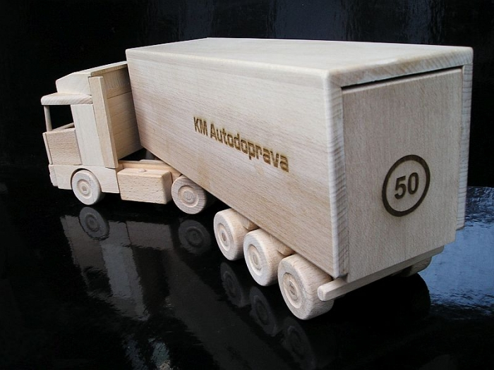 Geschenk für LKW-Fahrer, LKW mit Text,Geburtstagsgeschenk