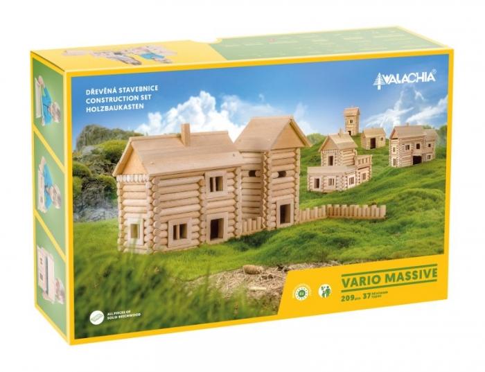 Holz-Baukasten 209 Teile