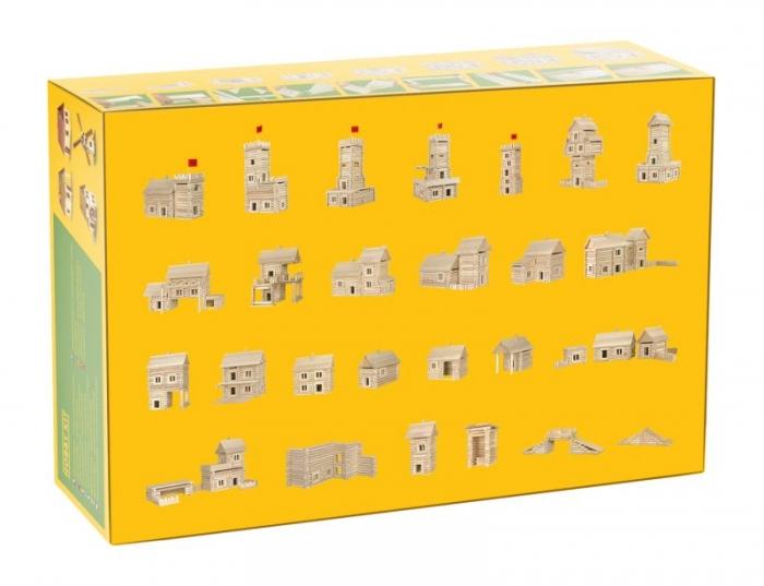 Holz-Baukasten 209 T.