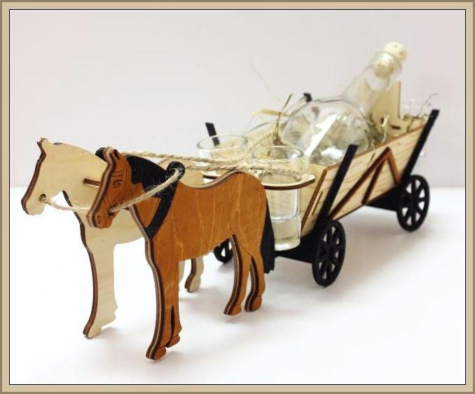 Pferde | Geschenk Geburtstag Flasche