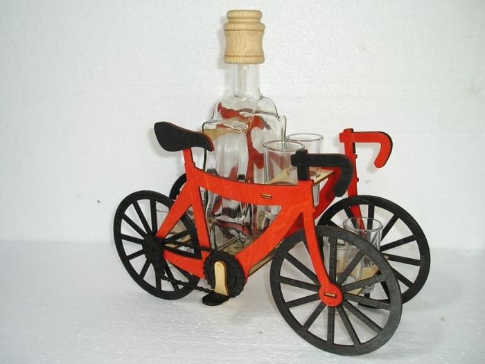 Geschenk für Radfahrer   Geburtstag Flasche.