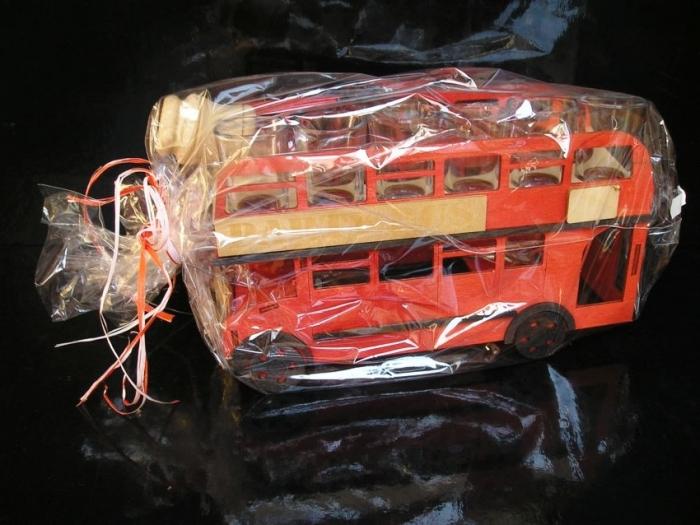 Geschenk für Busfahrer, Flaschen