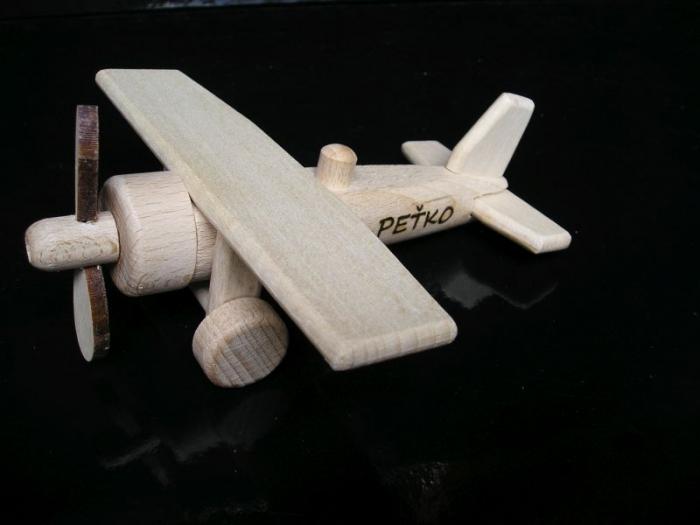 Kinderflug Spielzeug mit Gravur