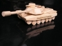 Militärtank aus Holz, Panzer Spielzeug