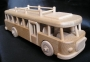 Bus Holzmodelle