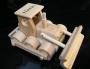 Spielzeug aus Holz Bulldozern