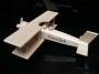Großes Holzflugzeug für Kinder mit Gravur
