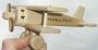 Flugzeuge aus Holz mit personal Widmung