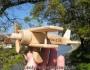 Kinder Flugzeuge aus Holz