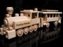 Zug Lokomotive mit Wagon Spiele