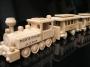 Geburgstag Lokomotive mit 3 Waggons