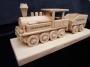 Geschenk für Fahrerlokomotive, Zug mit Text, Logo, Geburtstagsgeschenk