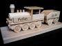 Geschenk für Fahrerlokomotive, Zug mit Text, Logo,