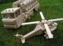 LKW Holztransport Spielzeug