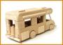 Wohnwagen Spielzeug aus Holz