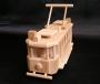Die historische Straßenbahn Spielzeug Ringhoffer