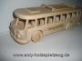 Bussen Holz-spielzeug mit Text Gravur