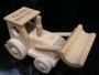 Klein Traktor Schlepper Holz Spielzeug