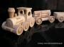 Holz Lokomotive, klein