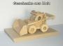 Landwirtschaftliche Lader Spielzeug aus Holz