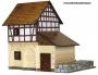FACHWERK-WASSERMÜHLE Holz-baukasten