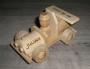 Klein Holz Auto Geschenk mit Gravur