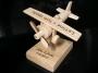 Geschenk für Flugzeugpilot mit Text, Logo, Geburtstagsgeschenk