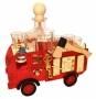 Feuerwehrmann Feuerwehrauto Geschenk Geburtstag Flasche