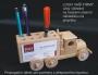 Holz-LKW_Werbegeschenk_praktisches_Spielzeug_für_Management_auf_den_Schreibtisch