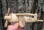 Holzflugzeuge mit Geburtstagsnamen