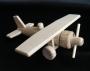 Kinder-Holz-Spielzeug-Flugzeug